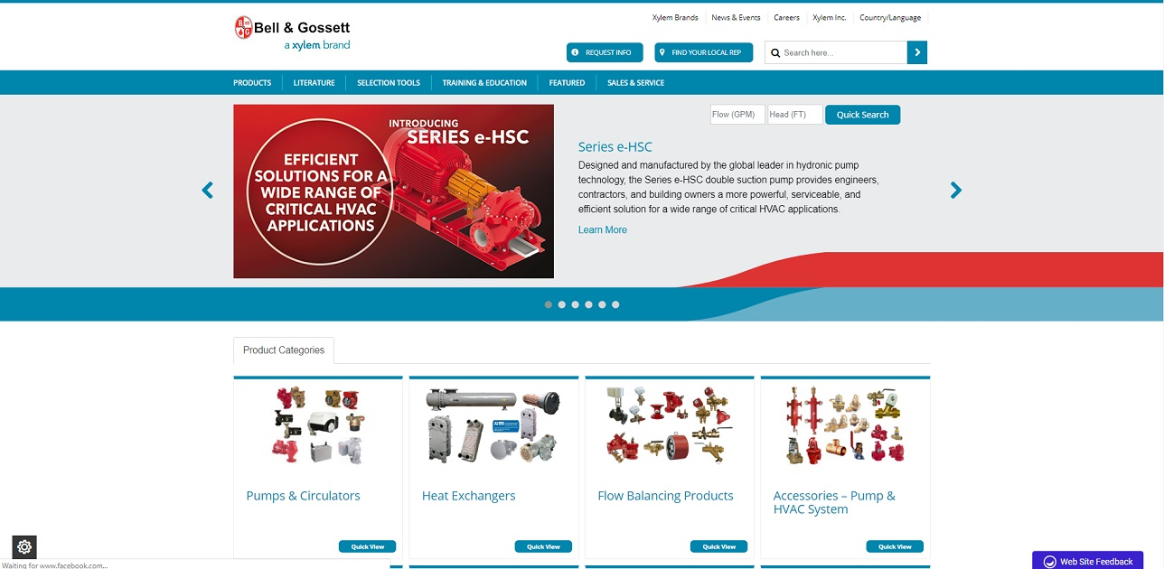 Bell & Gossett® Domestic Pump