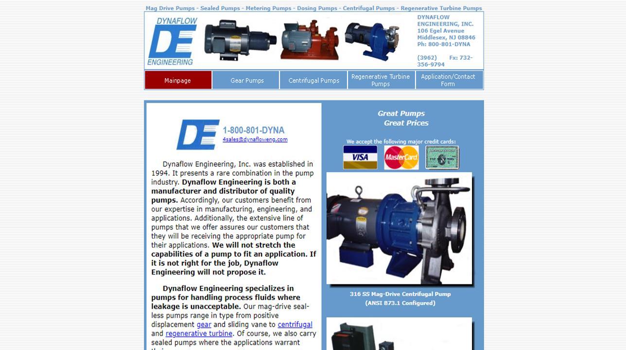 Dynaflow Engineering, Inc.