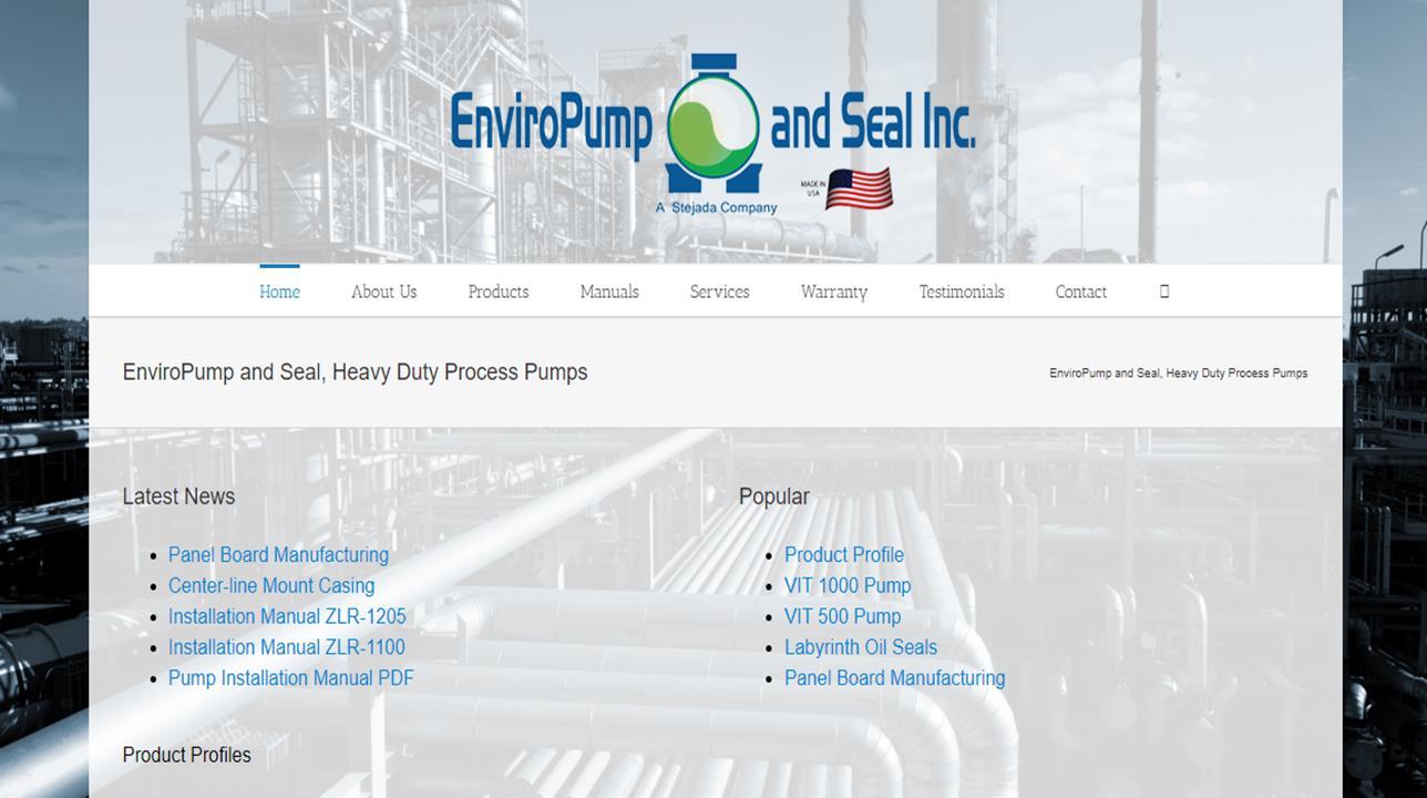 Enviropump and Seal