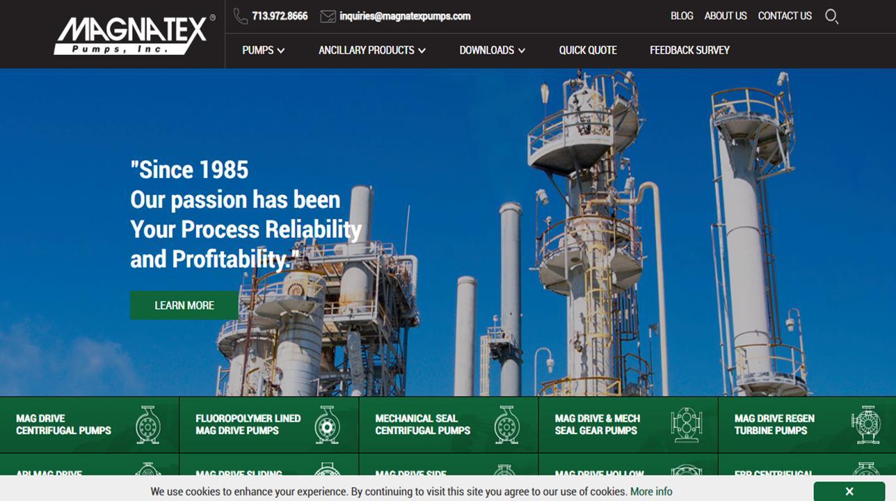 Magnatex® Pumps, Inc.