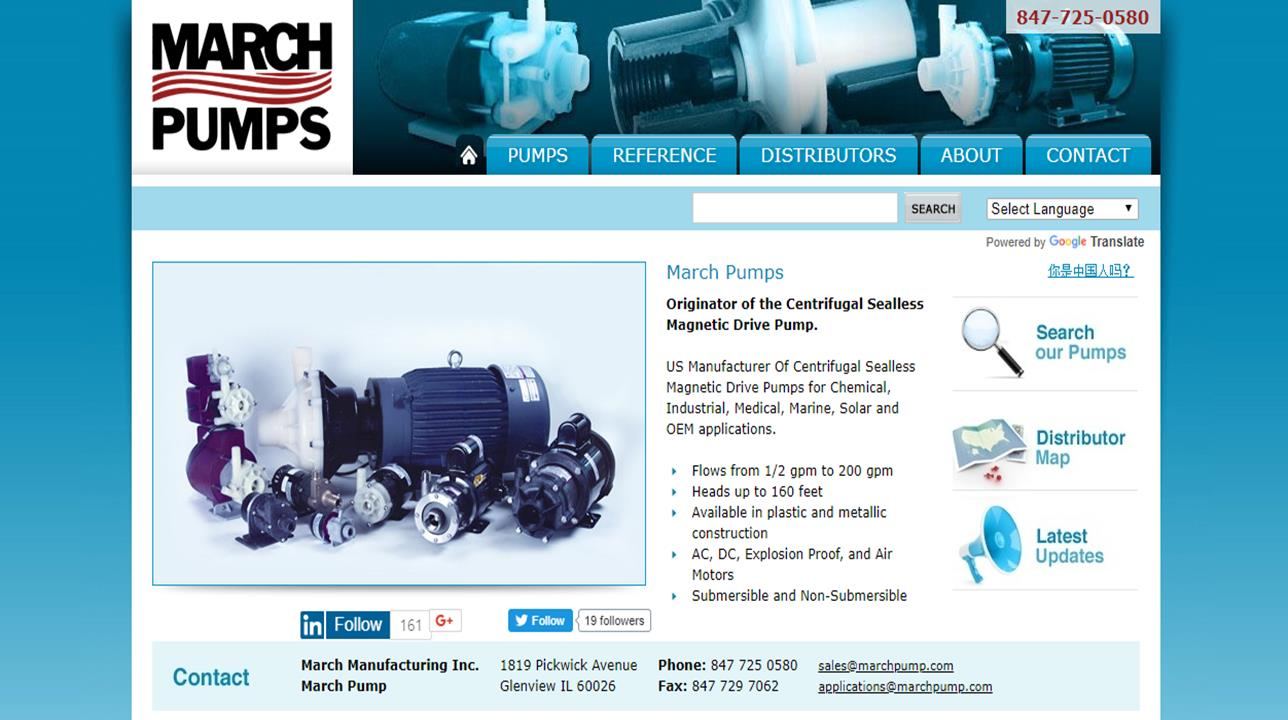 March Manufacturing, Incorporated