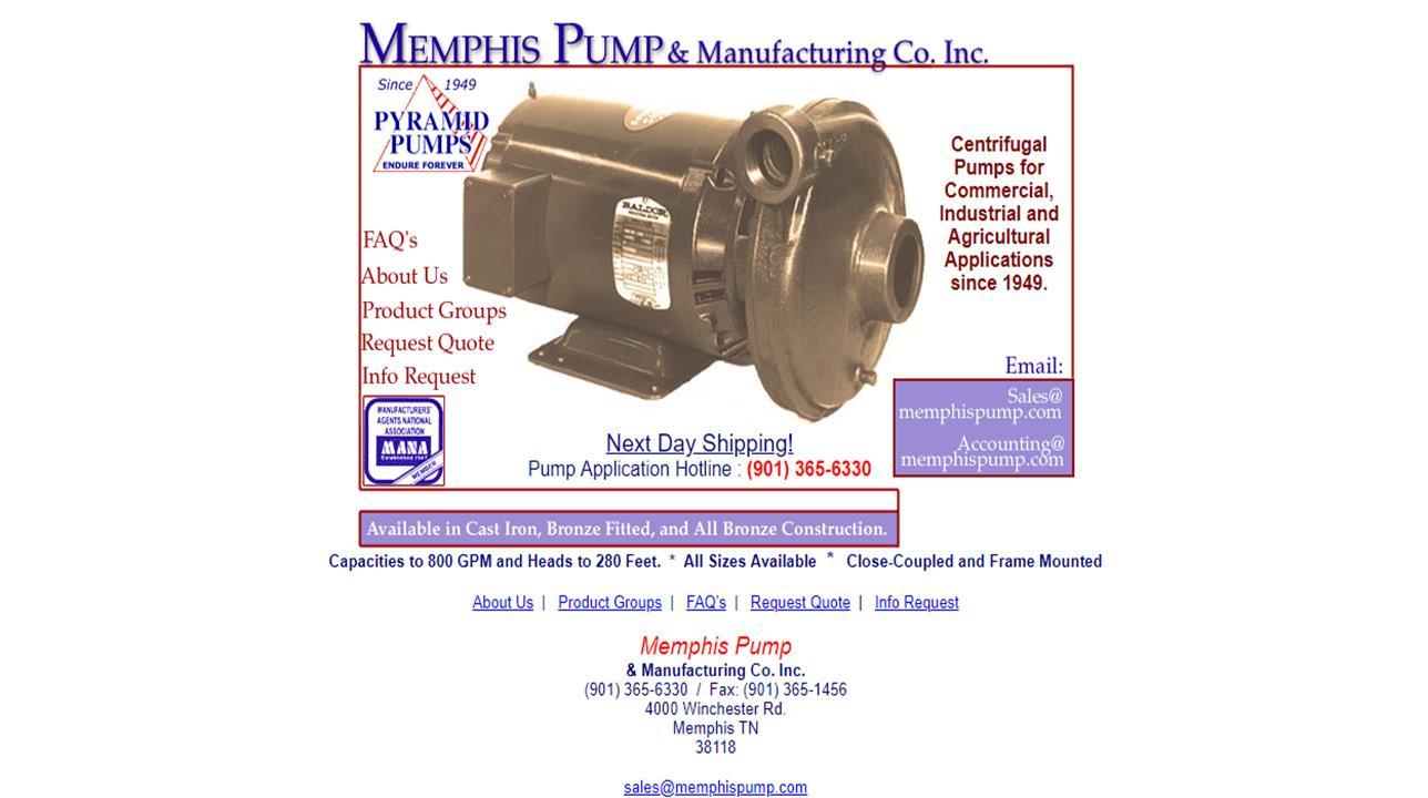 Memphis Pump & Manufacturing Co. Inc.