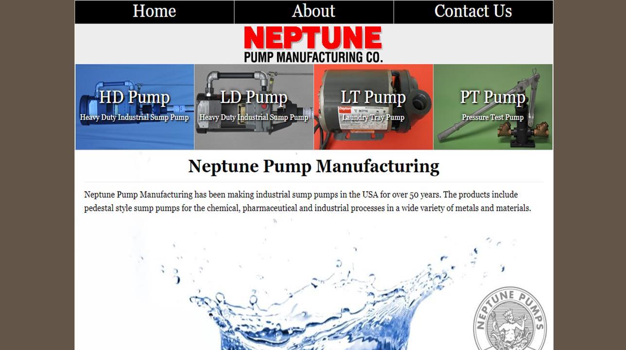 Neptune Pump Manufacturing