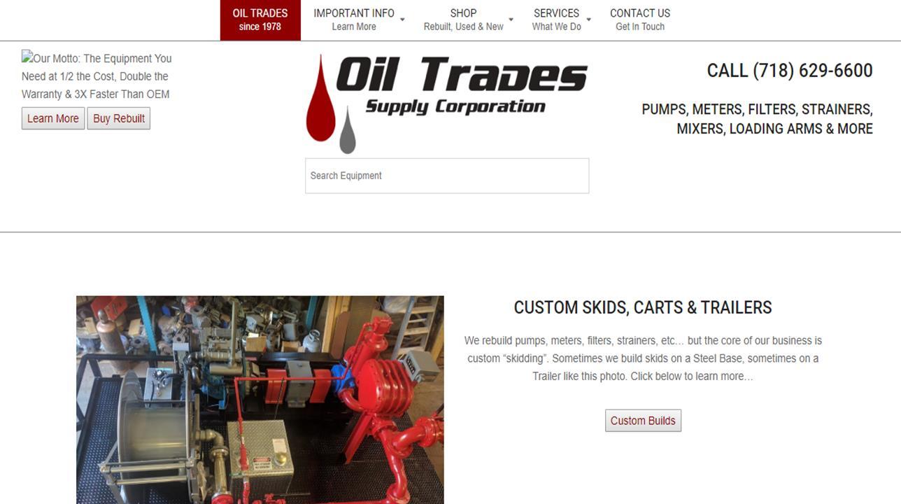 Oil Trades Supply