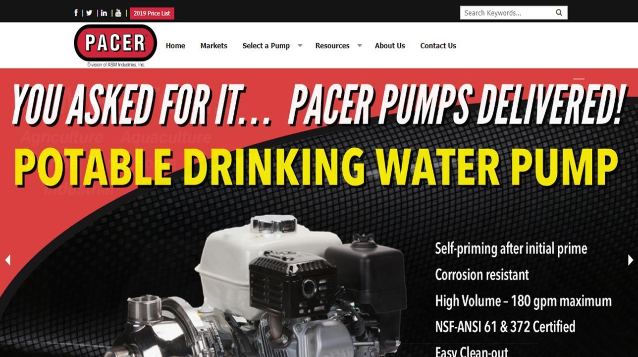 Pacer Pumps