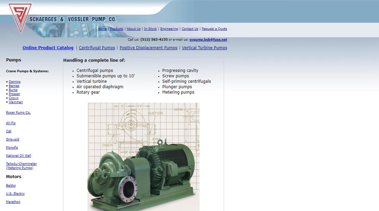 Schaerges & Vossler Pump Company