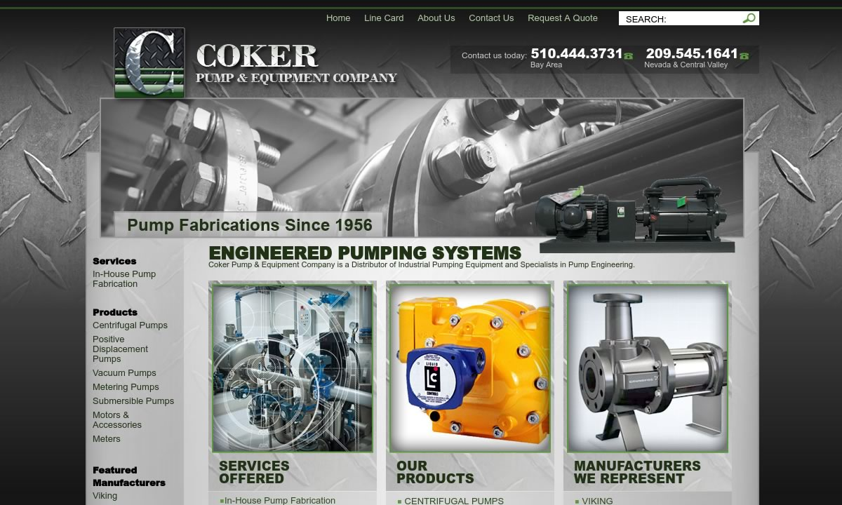 Coker Pump & Equipment